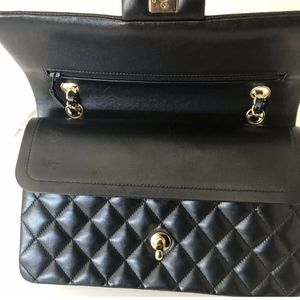 Black Chanel Double Flap